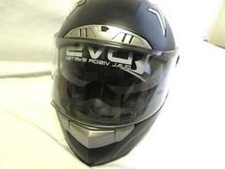 Iv2 Black Full Face Polycarbonate Motorcycle Helmet DOT Cert