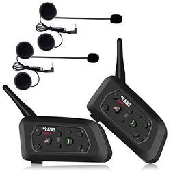 EJEAS 2x V6 Pro BT Intercom Bluetooth Interphone 1200m Bluet