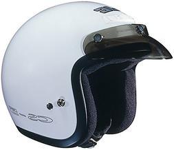 HJC CS-5 CS5 CRUISERn White Size:XSM Motorcycle Open-face-he