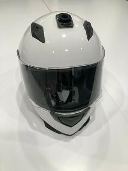 ILM-313 Motor Cycle Helmet - White   Spare Part   CLEARANCE