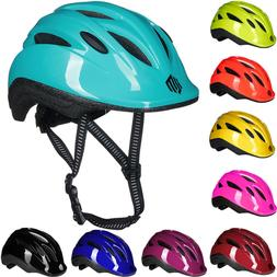 ILM Kids Bike Bicycle Helmet for Girls Boys Adjustable Fitme