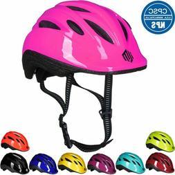 ILM Kids Toddler Bike Bicycle Cycling Helmet with Adjustable