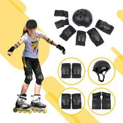 Knee Elbow Bike Protective Gear Set Safety Roller Skating Bi