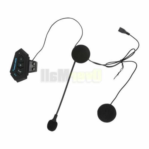 2020 Rechargeable Motorcycle Bluetooth Helmet Speaker