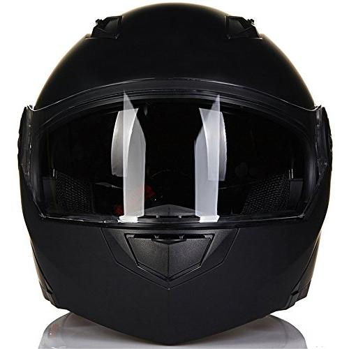 ILM 8 Colors Motorcycle Modular Flip Visor DOT
