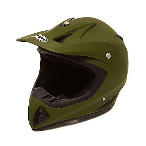 Adult Helmet DOT - MX ATV Motocross UTV . Includes