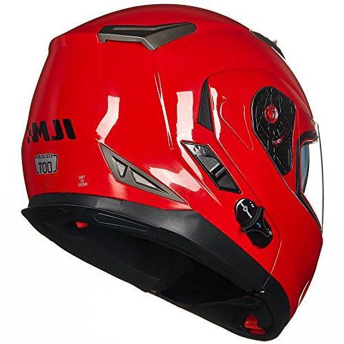 ILM Flip Face Motorcycle Helmet Sun Shield