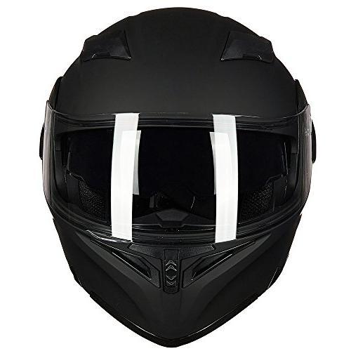 ILM Motorcycle Visor Flip up Modular Face 6