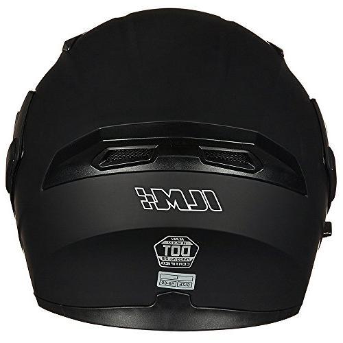 ILM Motorcycle Flip up Modular Full Face Helmet 6 Colors