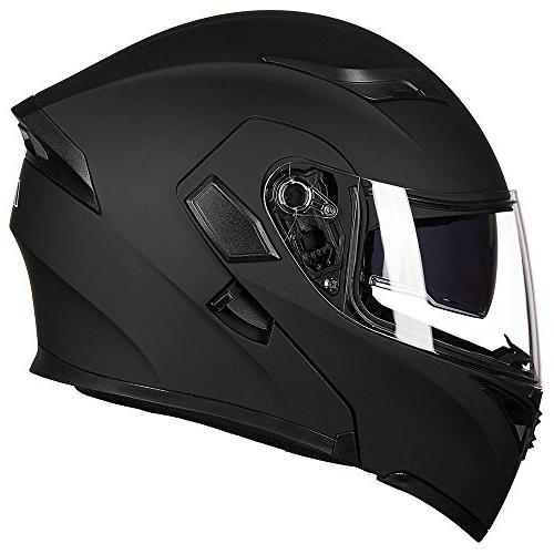 ILM Flip up Face Helmet DOT 6