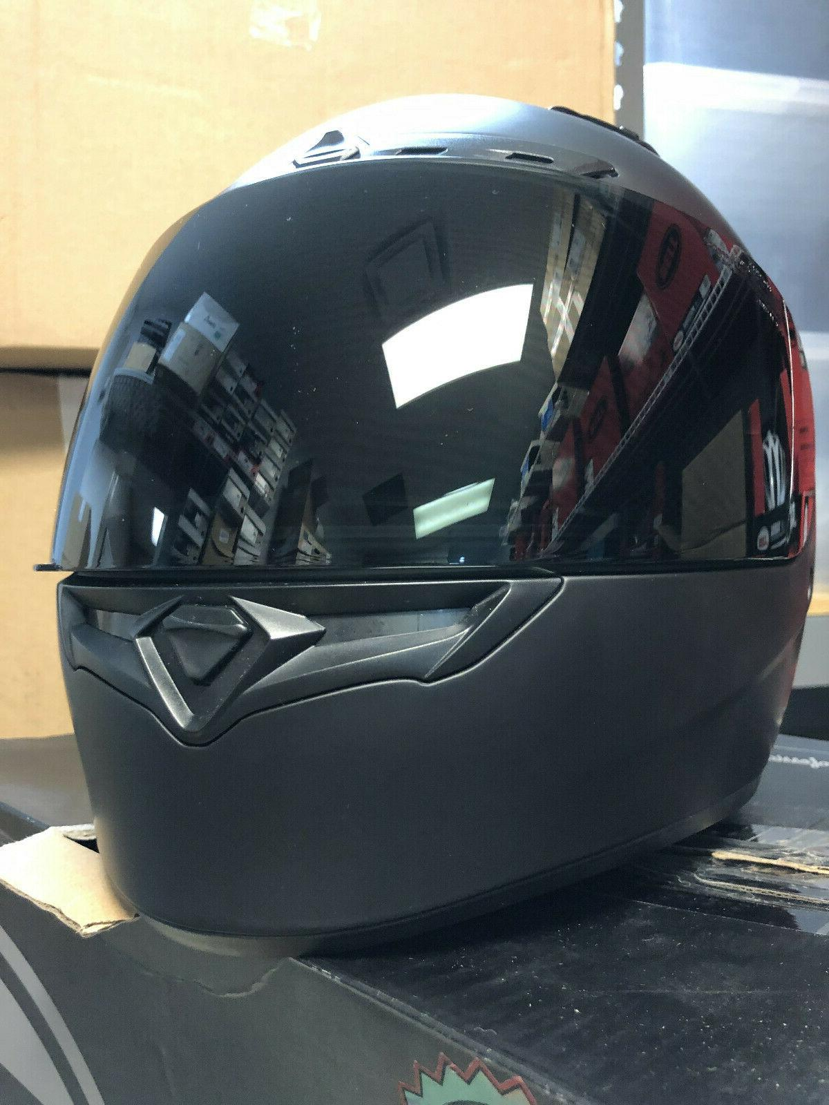 Bell DLX Full Face Motorcycle Helmet and Shield