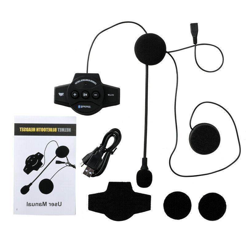 Rechargeable Bluetooth Helmet Headset BT-10