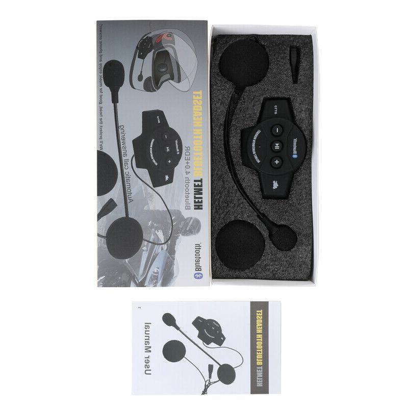 Rechargeable Helmet Speaker Call BT-10