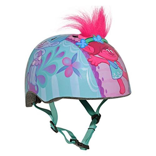 trolls helmet toddler multisport poppy