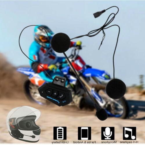 Motorcycle Headset Bluetooth Headphone Speaker BT-12
