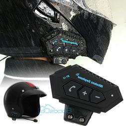 Motorcycle Helmet Headset Wireless Bluetooth Headphone Speak