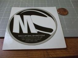 MOTORCYCLE HELMETS Sticker Decal Automotive ORIGINAL old sto