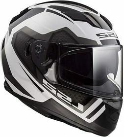 LS2 Helmets Motorcycles Powersports Helmet's Stream Axis Whi