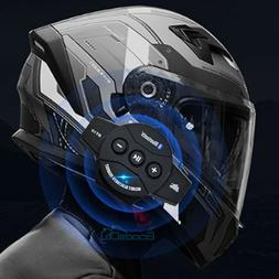 Rechargeable Motorcycle Wireless Bluetooth Helmet Headset Sp