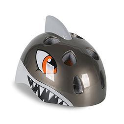 Zjoygoo Shark Cycling Bike Helmet Gray Skateboard Helmet for