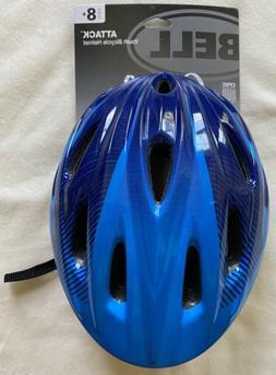 Bell Smartfit Youth Bike Helmet, age 8-14 Blue 55-57 cm Atta