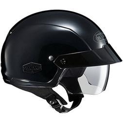 HJC Solid IS-Cruiser Half  Shell Motorcycle Helmet - Black /