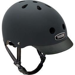 Nutcase - Solid Street Bike Helmet for Adults, Blackish Matt