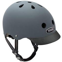 Nutcase - Solid Street Bike Helmet for Adults, Shark Skin Ma