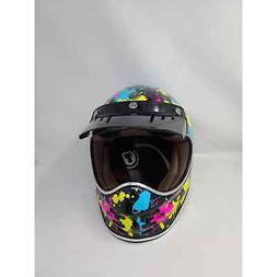 Torc T-3 Retro Moto Full Face helmet