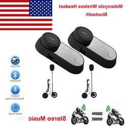 FREEDCONN TCOM - 02 Motorcycle Communication Kit Helmet Blue