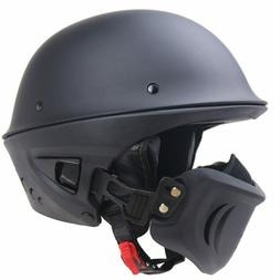 Type Bell Style Rogue Motorcycle Half Helmet 100% Authentic