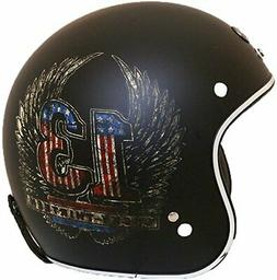 TORC Unisex-Adult Open-Face Style Motorcycle Helmet Small 1