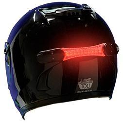 Wireless Helmet Brake Light with 18 LEDs Receiver